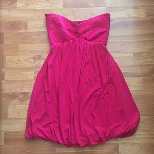 NWT bebe Strapless dress